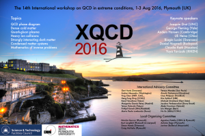 XQCD2016