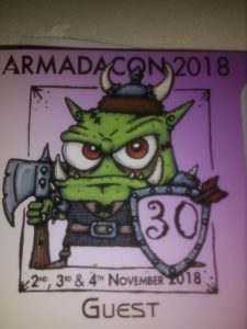 Talk at local SciFi and Fantasy convention – Blog for